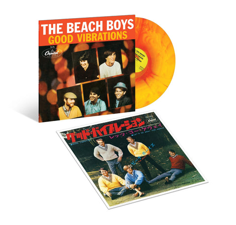 The Beach Boys | Good Vibrations | 50th Anniversary Limited Edition Sunburst Vinyl EP