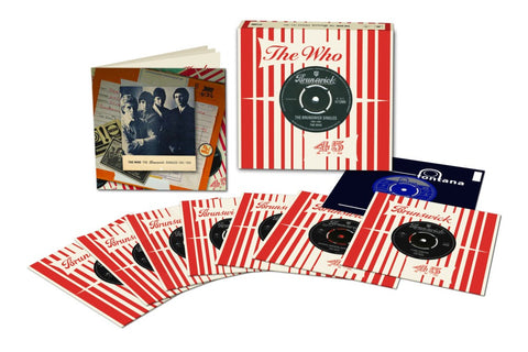 "The Who | The Brunswick Singles | Limited Edition 45RPM Vinyl 7"" Box Set"