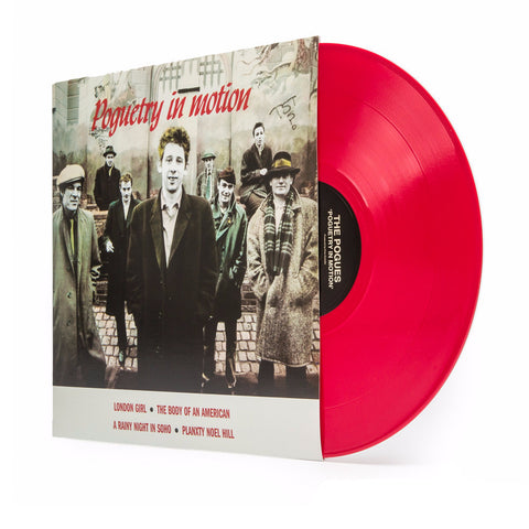 The Pogues | Poguetry in Motion  | Red Colored Vinyl EP