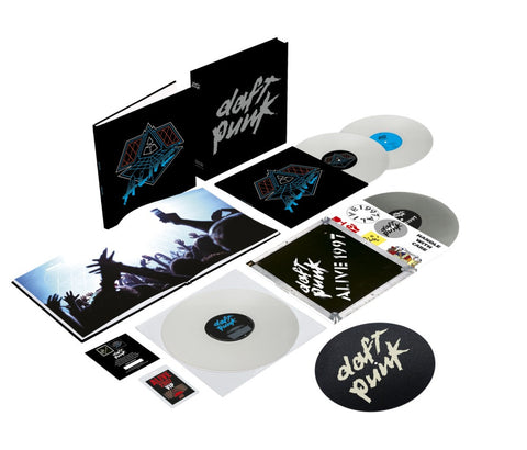 Daft Punk | Alive 1997 + Alive 2007  | Deluxe Edition 4LP Colored Vinyl Box Set