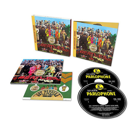 The Beatles | Sgt. Peppers Lonely Hearts Club Band: 50th Anniversary | Deluxe Edition 2-CD Set