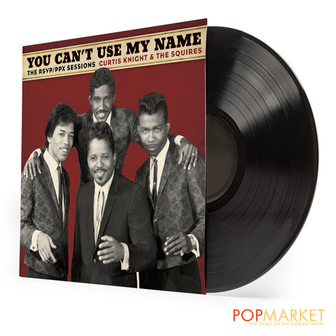 Curtis Knight & The Squires (feat. Jimi Hendrix) | You Can't Use My Name | Vinyl LP