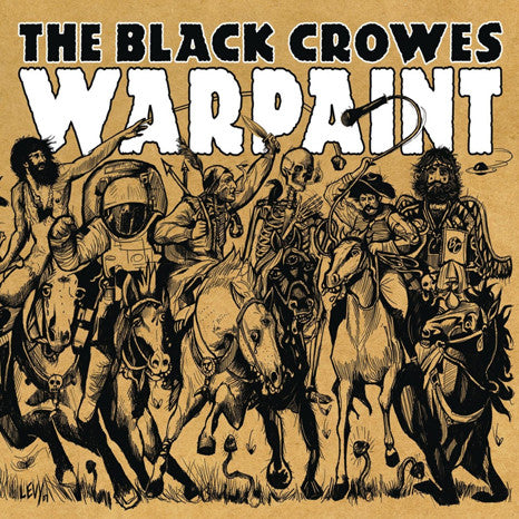 The Black Crowes | Warpaint | Limited Edition Blue Colored Vinyl LP