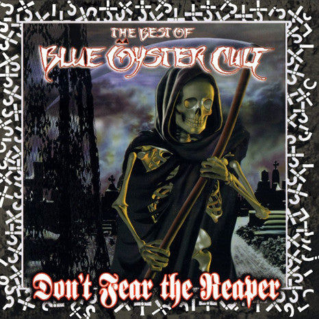 Blue Oyster Cult | Don't Fear the Reaper... Best Of | 180g Translucent Blue Vinyl 2LP
