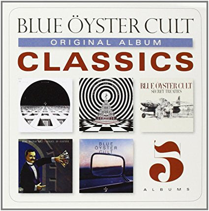 Blue Oyster Cult | Original Album Classics #2 | 5xCD Box Set