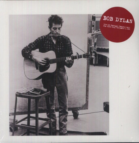 Bob Dylan | Live at Carnegie Chapter Hall, New York City, November 4, 1961 | 180g Vinyl 2LP [Import]