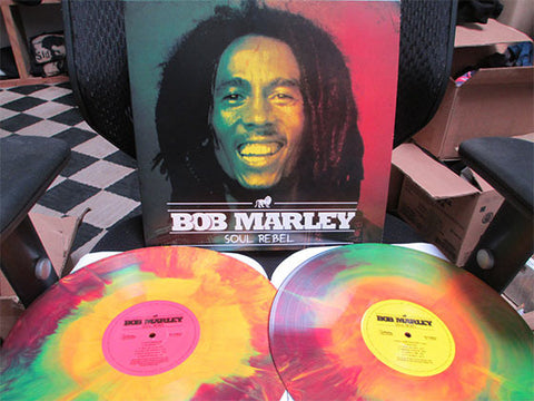 Bob Marley | Soul Rebel | Limited Edition 180g Colored Vinyl 2LP