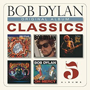 Bob Dylan | Original Album Classics [The 80's] | 5xCD Box Set
