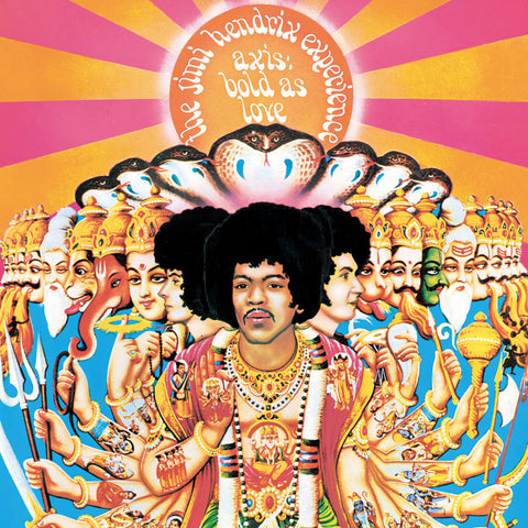 Jimi Hendrix | Axis: Bold as Love | 200g Mono Vinyl LP
