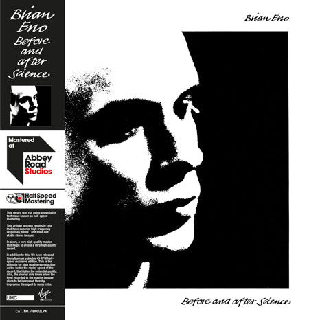 Brian Eno | Before And After Science | 180g Audiophile Virgin Vinyl 2LP 45 RPM