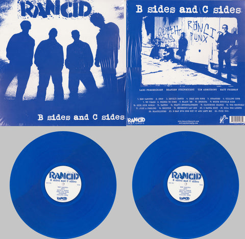 Rancid | B Sides and C Sides | 180g Vinyl 2LP (Blue Vinyl, Limited Edition)