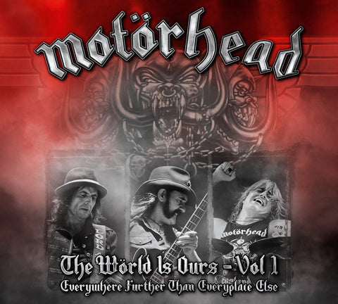 Motörhead | The Wörld Is Ours - Vol. 1: Everywhere Further Than Everyplace Else | Vinyl LP