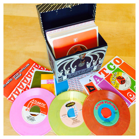 "Various Artists | What It Is! Funky Soul and Rare Grooves: The Singles Collection | 25 7"" Singles Vinyl Box Set"