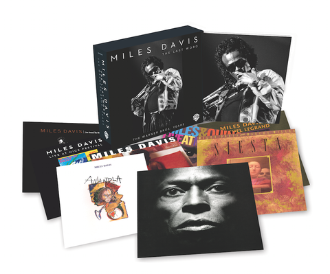 Miles Davis | The Last Word: The Warner Bros. Years | Fully Remastered 8 CD Box Set