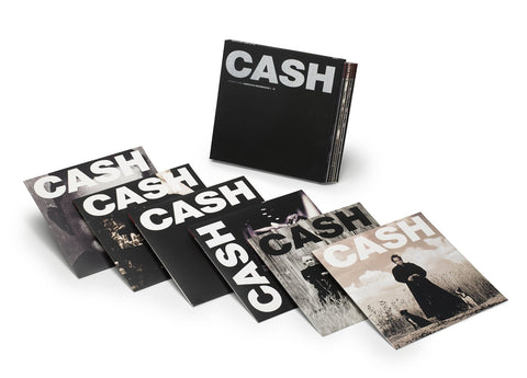 Johnny Cash | American Recordings | Limited Edition 180g 7LP Vinyl Box Set