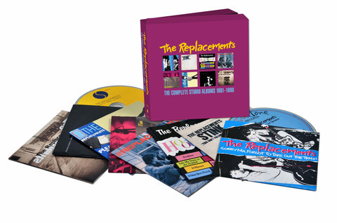 The Replacements | The Complete Studio Albums 1981-1990 | CD Box Set