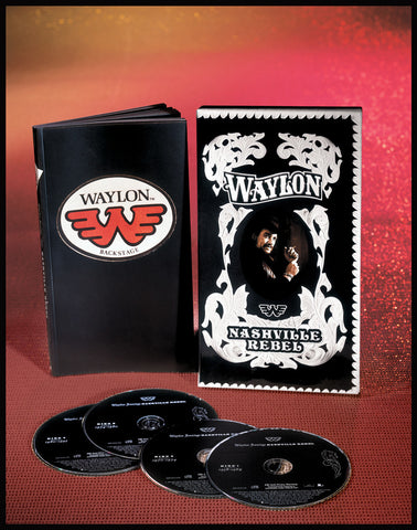 Waylon Jennings | Nashville Rebel | CD Box Set