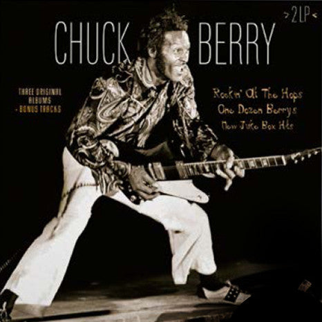 Chuck Berry | Rockin At The Hops / One Dozen Berrys / New Juke Box Hits | 180g Colored Vinyl 2LP
