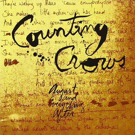 Counting Crows | August And Everything After | Vinyl 2LP