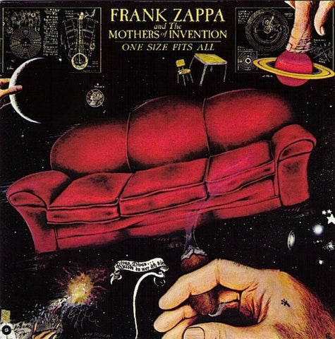 Frank Zappa and the Mothers of Invention | One Size Fits All | 180g Vinyl LP