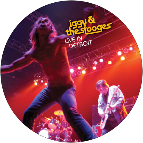 Iggy and the Stooges | Live in Detroit 2003 | Vinyl LP Picture Disc