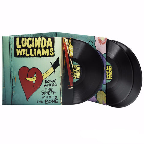 Lucinda Williams | Down Where the Spirit Meets the Bone | Vinyl 3LP