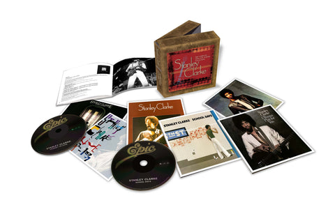 Stanley Clarke | Complete 1970s Epic Albums Collection | CD Set