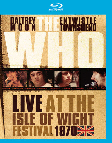 The Who | Live at the Isle of Wight Festival 1970 | Blu-ray or DVD
