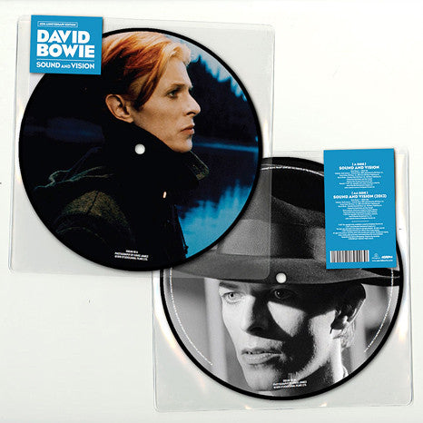 "David Bowie | Sound And Vision (40th Anniversary) | Limited Edition 7"" Picture Disc"