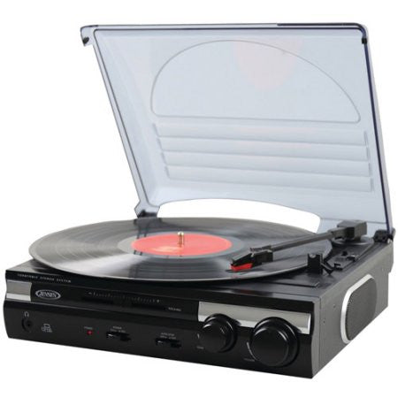 Jensen | JTA-230 3-Speed Turntable
