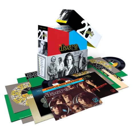 "The Doors | The Singles | 20 Piece 7"" Vinyl Box Set"
