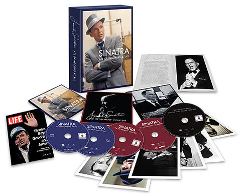 Frank Sinatra | All or Nothing At All  | CD-DVD Combo