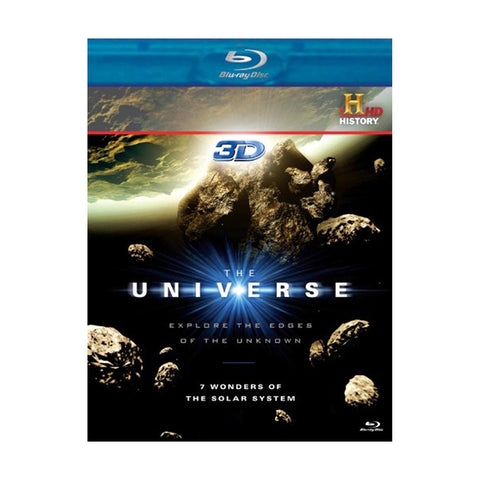 History Store | The Universe (7 Wonders of the Solar System) | Blu-ray