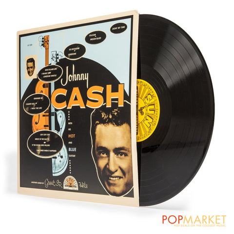 Johnny Cash | With His Hot and Blue Guitar | Vinyl LP