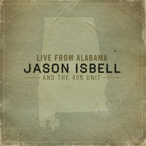 Jason Isbell | Live from Alabama | Vinyl LP