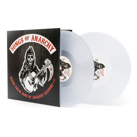 Sons of Anarchy | Songs of Anarchy: Music from Sons of Anarchy Seasons 1-4 | Clear Vinyl 2LP