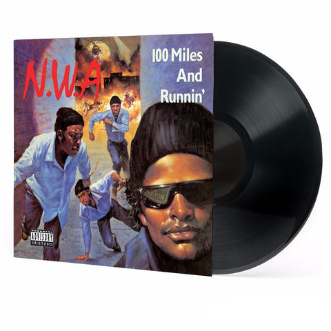 N.W.A | 100 Miles and Runnin' | Limited Edition 3D Lenticular Cover Vinyl LP