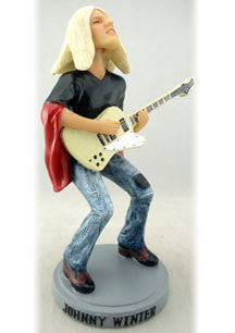 Johnny Winter | 1976 Captured Live Guitar Gods Figure (Numbered Limited Edition) | Figurine