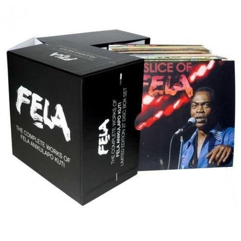 Fela Kuti | The Complete Works of Fela Anikulapo-Kuti | 26xCD + 1xDVD Box Set