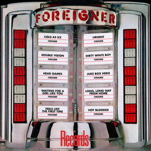 Foreigner | Records (Greatest Hits) | 180g Vinyl LP