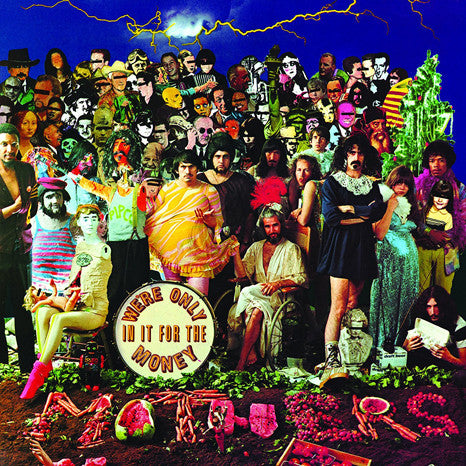 Frank Zappa and the Mothers of Invention | We're Only In It For The Money | 180g Vinyl LP