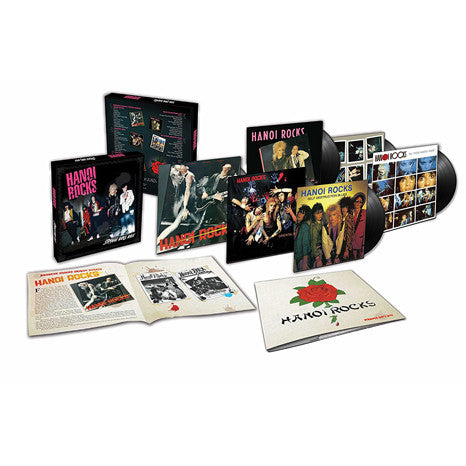 Hanoi Rocks | Strange Boys | Limited Edition 6LP Vinyl Box Set
