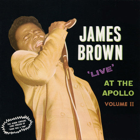James Brown | Live At The Apollo Vol. II (Half-Speed Master) | 180g Vinyl 3xLP (Import)
