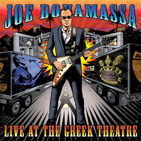 Joe Bonamassa | Live At The Greek Theatre | 180g Vinyl 4LP Set