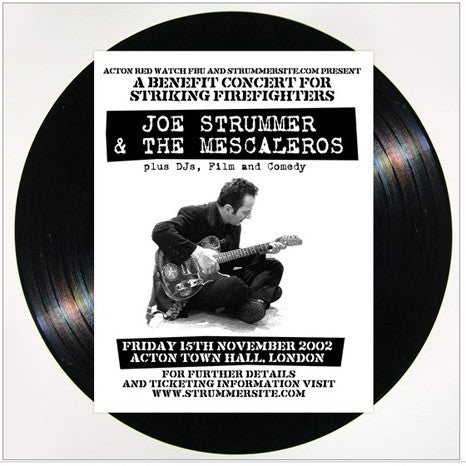 Joe Strummer & The Mescaleros | Live at Acton Town Hall | Vinyl 2LP