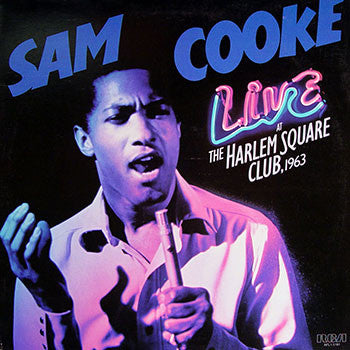 Sam Cooke | Live at the Harlem Square Club, 1963 | 180g Vinyl LP