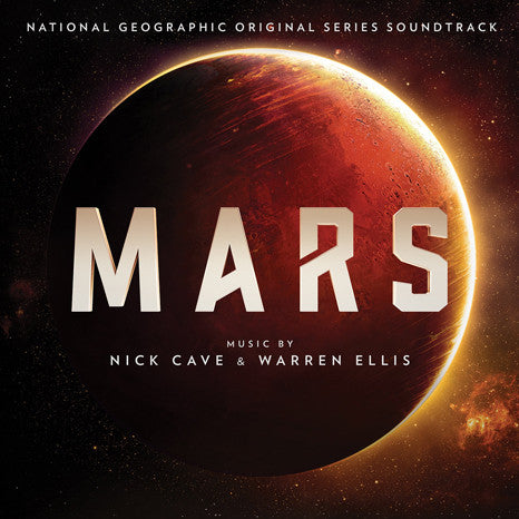 Nick Cave & Warren Ellis | Mars (Original Series Soundtrack) | 180g Red Colored Vinyl LP