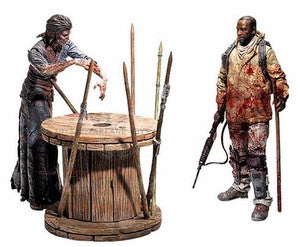 The Walking Dead | Morgan with Impaled Walker & Spike Trap Dlx Box
