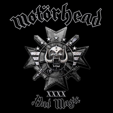 Motörhead | Bad Magic | Limited Edition Picture Disc LPs (Gold or Silver)