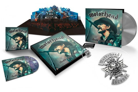 Motörhead | Clean Your Clock | Deluxe Box Set (LP/CD/DVD/Blu-ray)